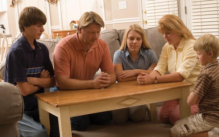 Ouders bidden