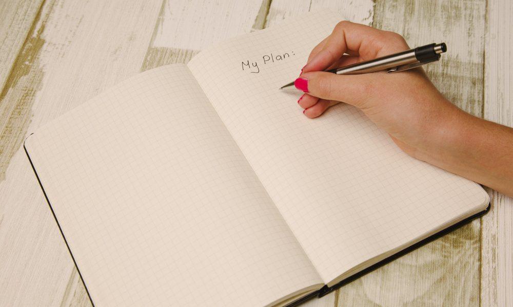bullet journal plan